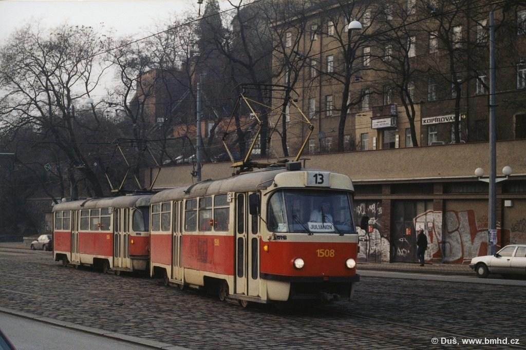 Fotogalerie » T3 1508 | T3 1506 | Brno | střed | Nádražní