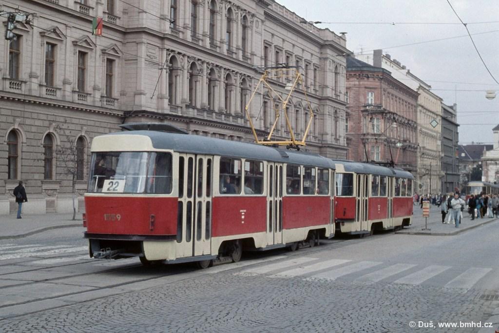 Fotogalerie » T3 1559 | Brno | střed | Joštova | Česká