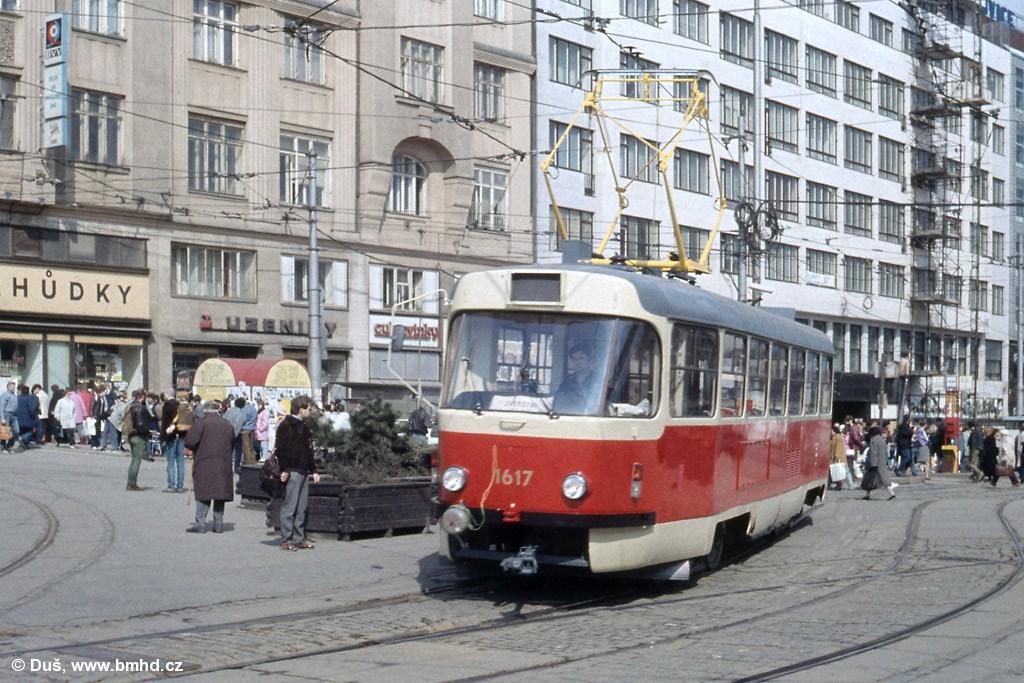 Fotogalerie » T3SUCS 1617 | Brno | střed | Nádražní | Hlavní nádraží
