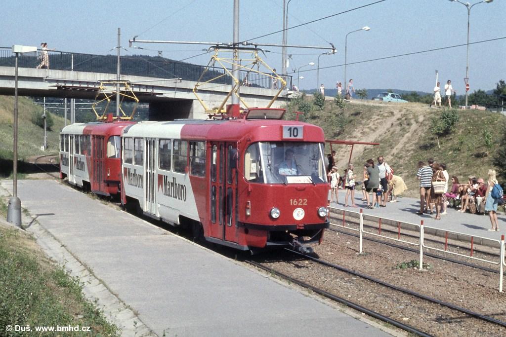 Fotogalerie » T3SUCS 1622 | T3SUCS 1623 | Brno | Bystrc | Přístaviště