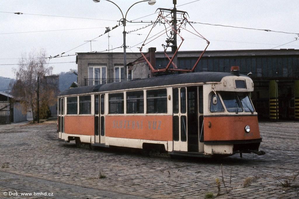 Fotogalerie » T2 služební 4104 | Brno | vozovna Pisárky