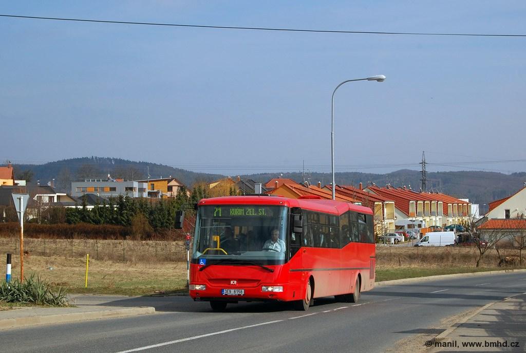 Fotogalerie » SOR BN 12 3E9 8158 | Brno | Ivanovice | Příjezdová