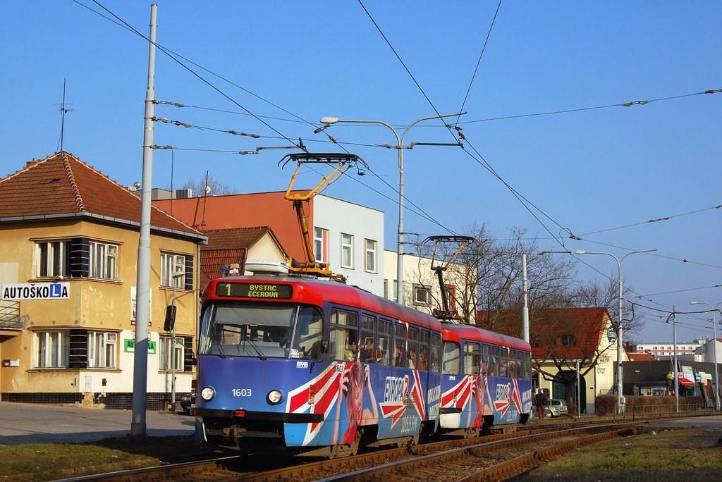 Fotogalerie » Pragoimex T3R.PV 1603 | Pragoimex T3R.PV 1561 | Brno | Komín | Kníničská