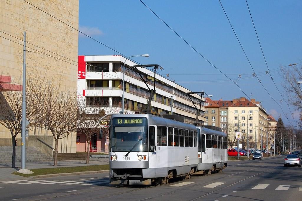 Fotogalerie » T3R 1659 | T3R 1660 | Brno | střed | Kounicova