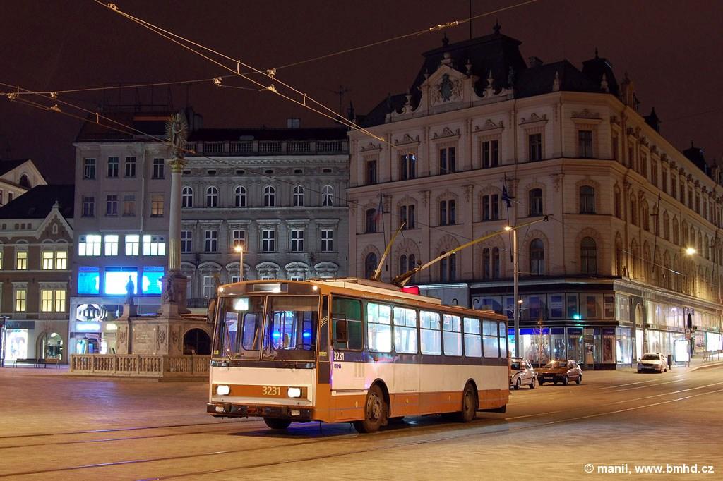 Fotogalerie » 14Tr08/6 3231 | Brno | střed | náměstí Svobody