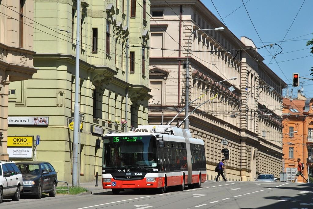 Fotogalerie » Škoda 31Tr 3644 | Brno | Veveří | Úvoz