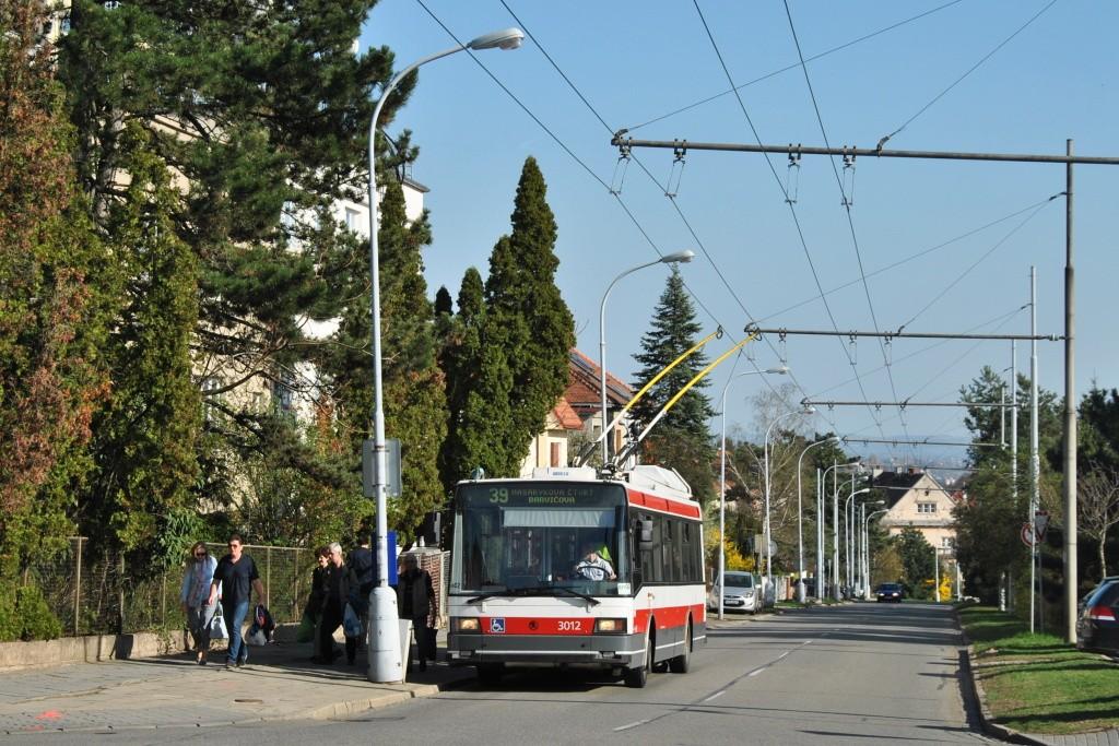 Fotogalerie » Škoda 21Tr 3012   Brno   Masarykova Čtvrť   Barvičova   Soukopova