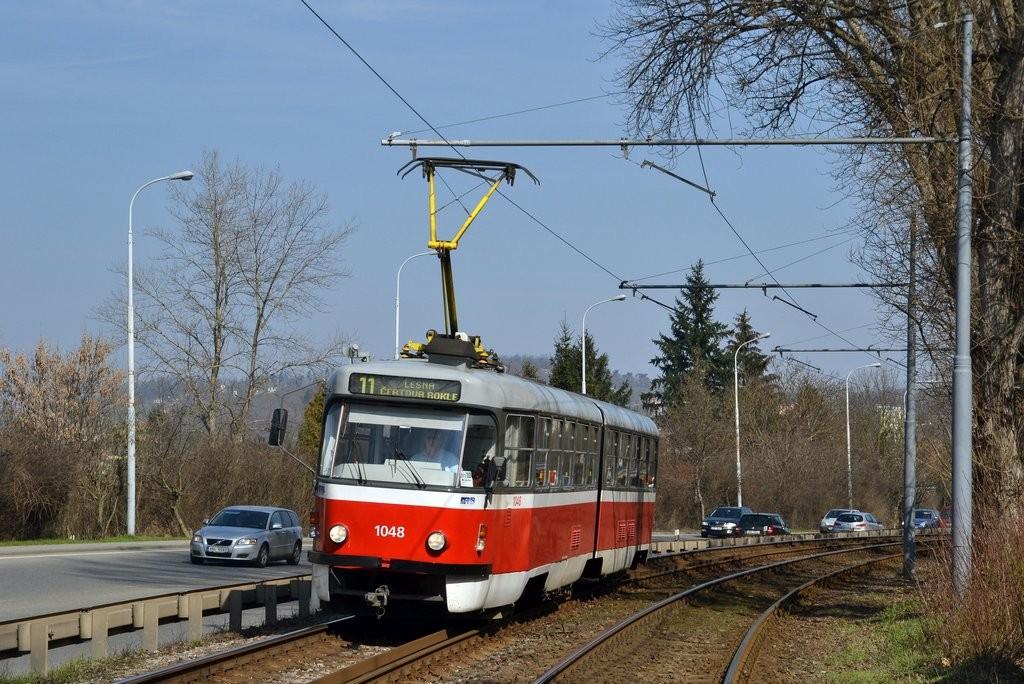 Fotogalerie » ČKD Tatra K2P 1048   Brno   Žabovřesky   Žabovřeská