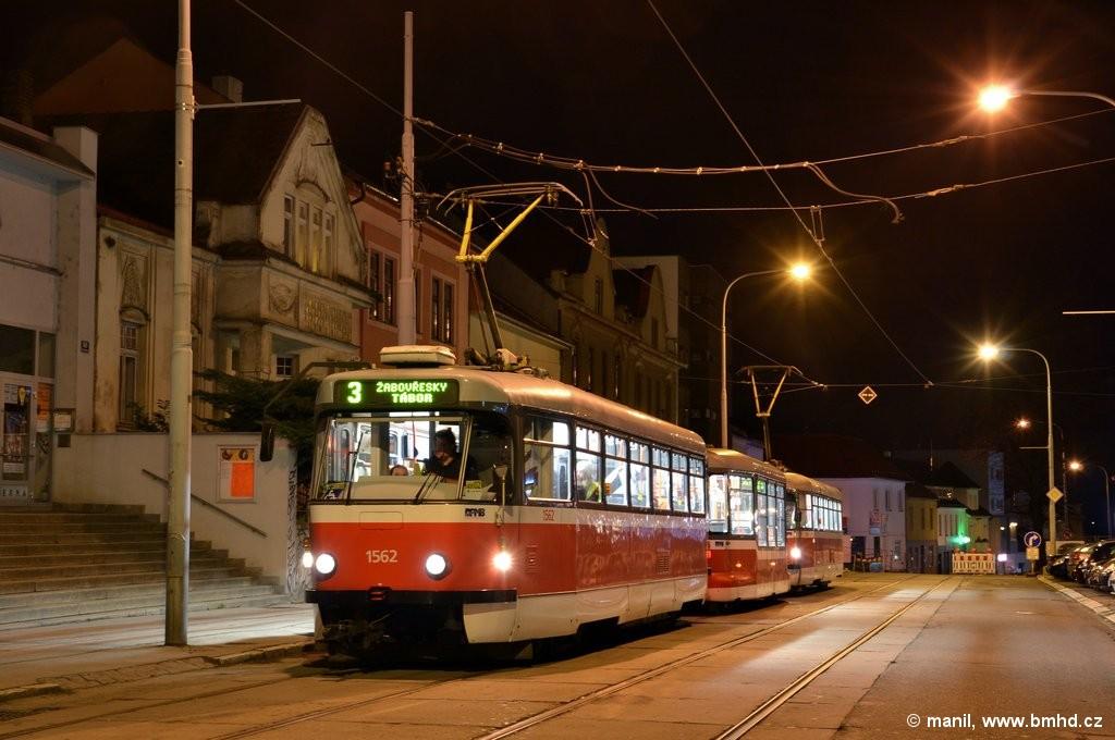 Fotogalerie » Pragoimex T3R.EV 1562 | Pragoimex VV60LF 1302 | Pragoimex T3R.EV 1569 | Brno | Žabovřesky | Minská | Tábor