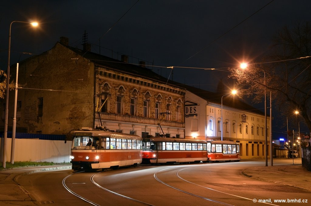 Fotogalerie » Pragoimex T3R.EV 1562 | Pragoimex T3R.EV 1569 | Pragoimex VV60LF 1302 | Brno | Trnitá | Dornych