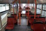 interiér tramvaje LF1 s platovými sedadly Kiel