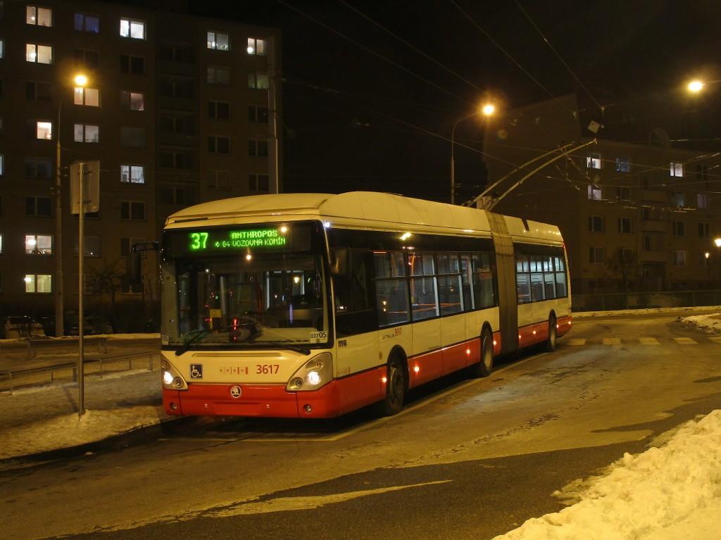 Fotogalerie » Škoda 25Tr Citelis 1B 3617 | Brno | Kohoutovice | Libušina třída | Jírovcova