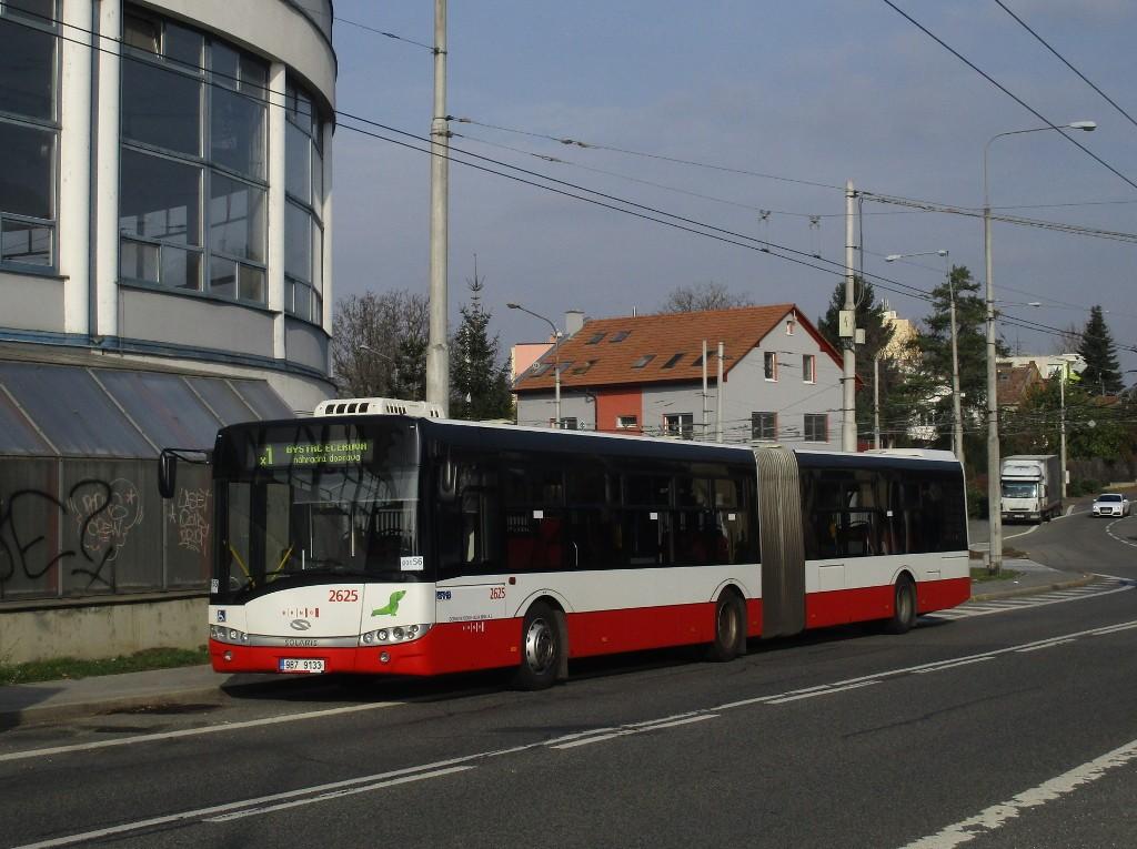 Fotogalerie » Solaris Urbino 18 III 9B7 9133 2625 | Brno | Komín | Veslařská