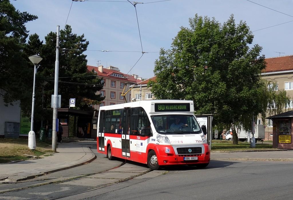 Fotogalerie » MAVE-Fiat CiBus ENA MAXI 6B6 6827 7504 | Brno | Masarykova Čtvrť | náměstí Míru