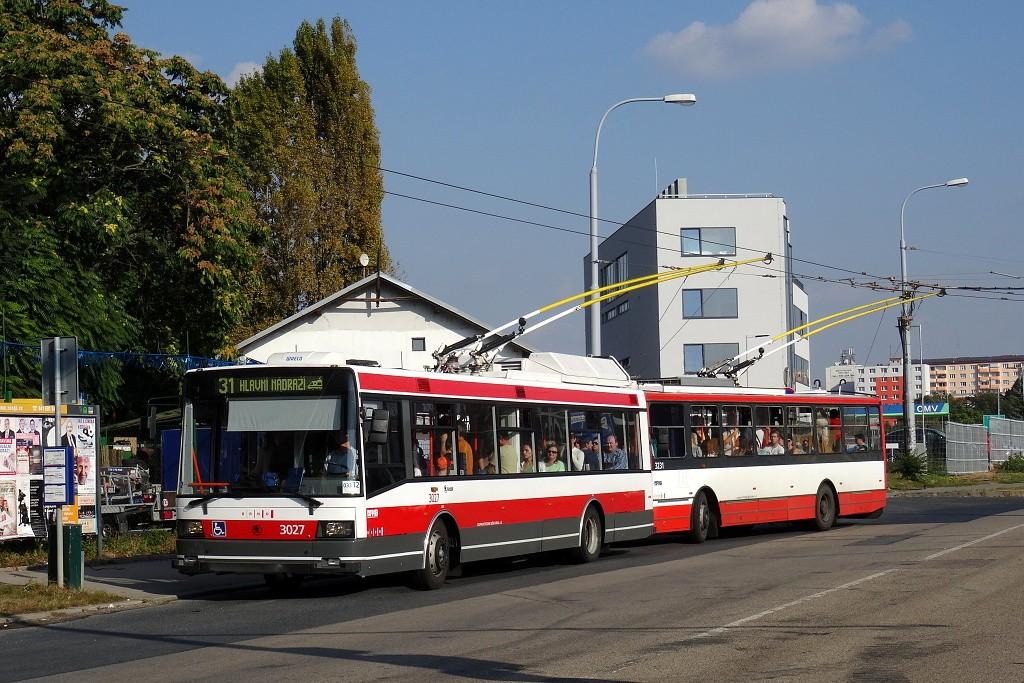Fotogalerie » Škoda 21Tr 3027   Brno   Černovice   Olomoucká   Životského