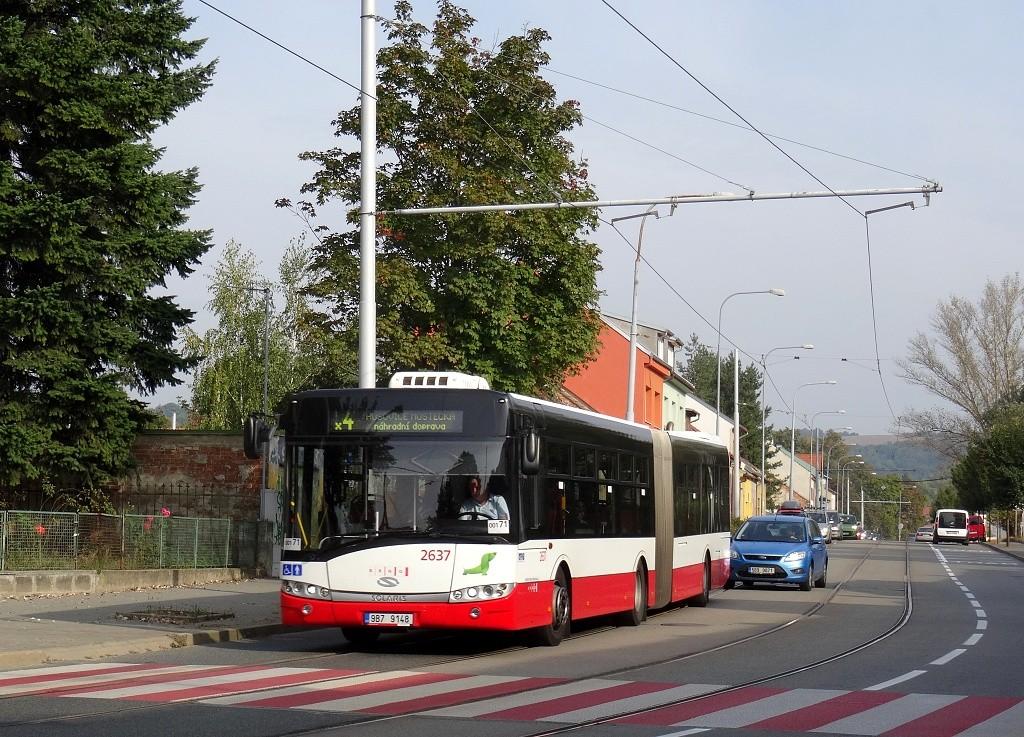 Fotogalerie » Solaris Urbino 18 III 9B7 9148 2637 | Brno | Maloměřice | Obřanská