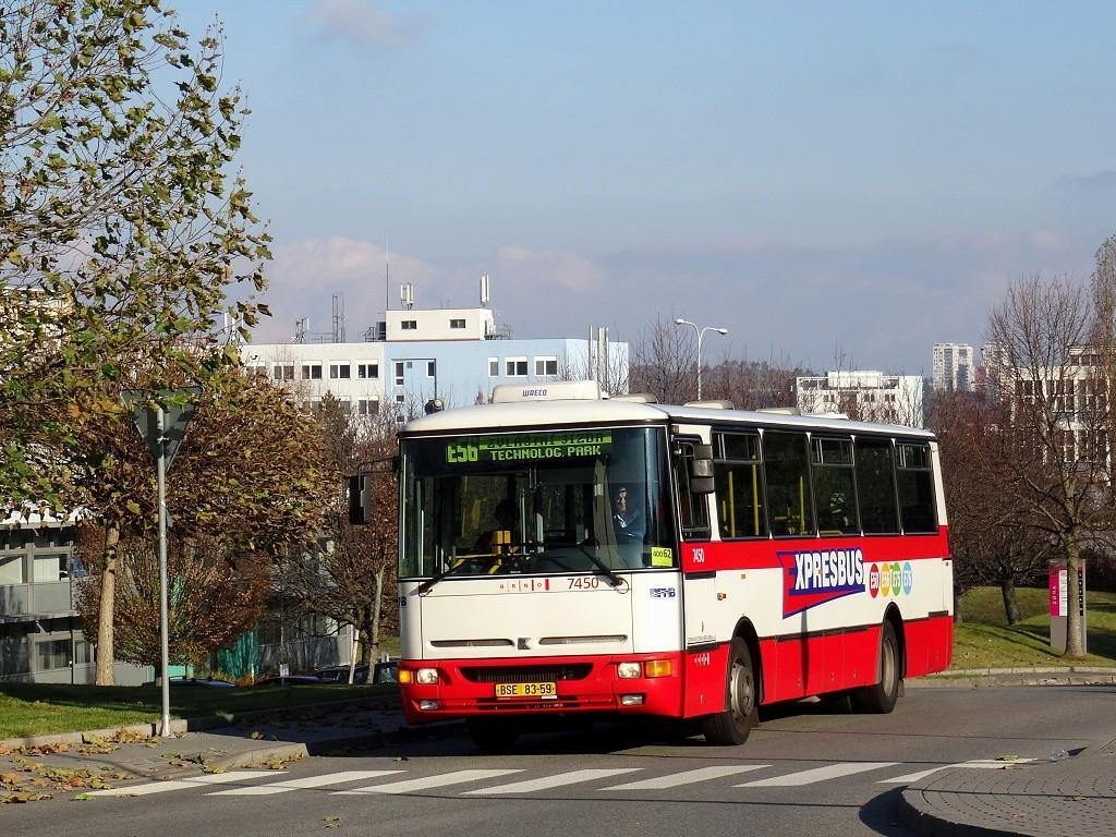 Fotogalerie » Karosa B931E.1707 BSE 83-59 7450 | Brno | Královo Pole | Technická