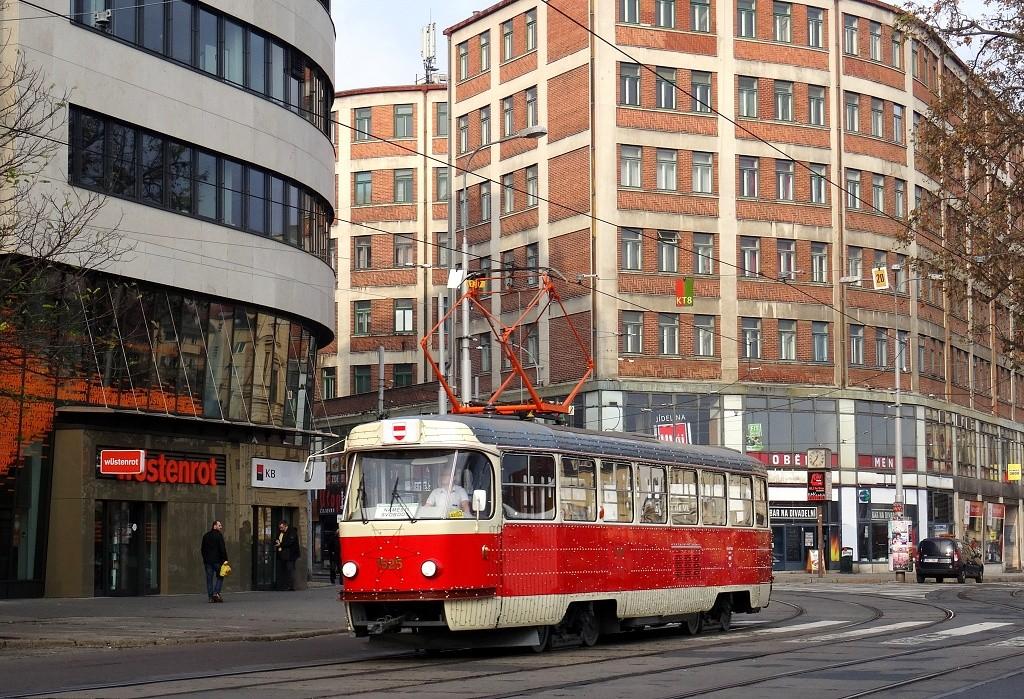 Fotogalerie » ČKD Tatra T3 1525 | Brno | střed | Benešova