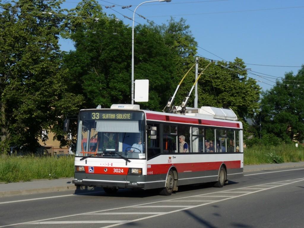 Fotogalerie » Škoda 21Tr 3024 | Brno | Slatina | Olomoucká