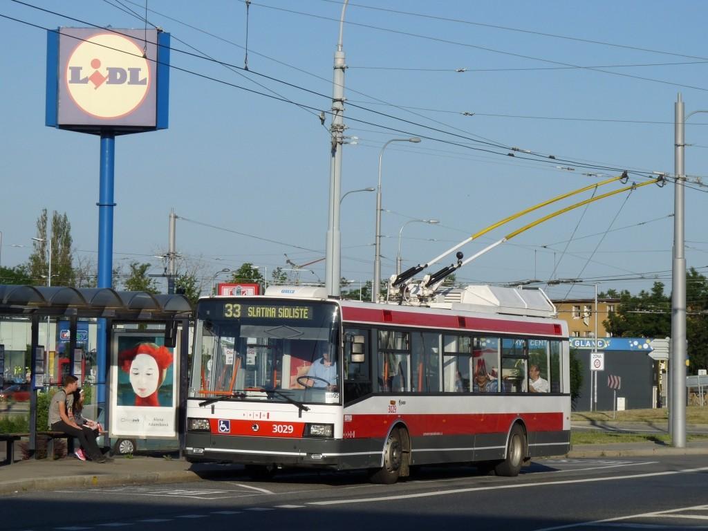 Fotogalerie » Škoda 21Tr 3029 | Brno | Slatina | Hviezdoslavova | Černovičky