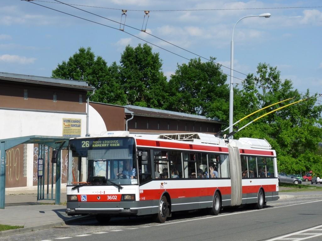 Fotogalerie » Škoda 22Tr 3602 | Brno | Vinohrady | Věstonická | Čejkovická