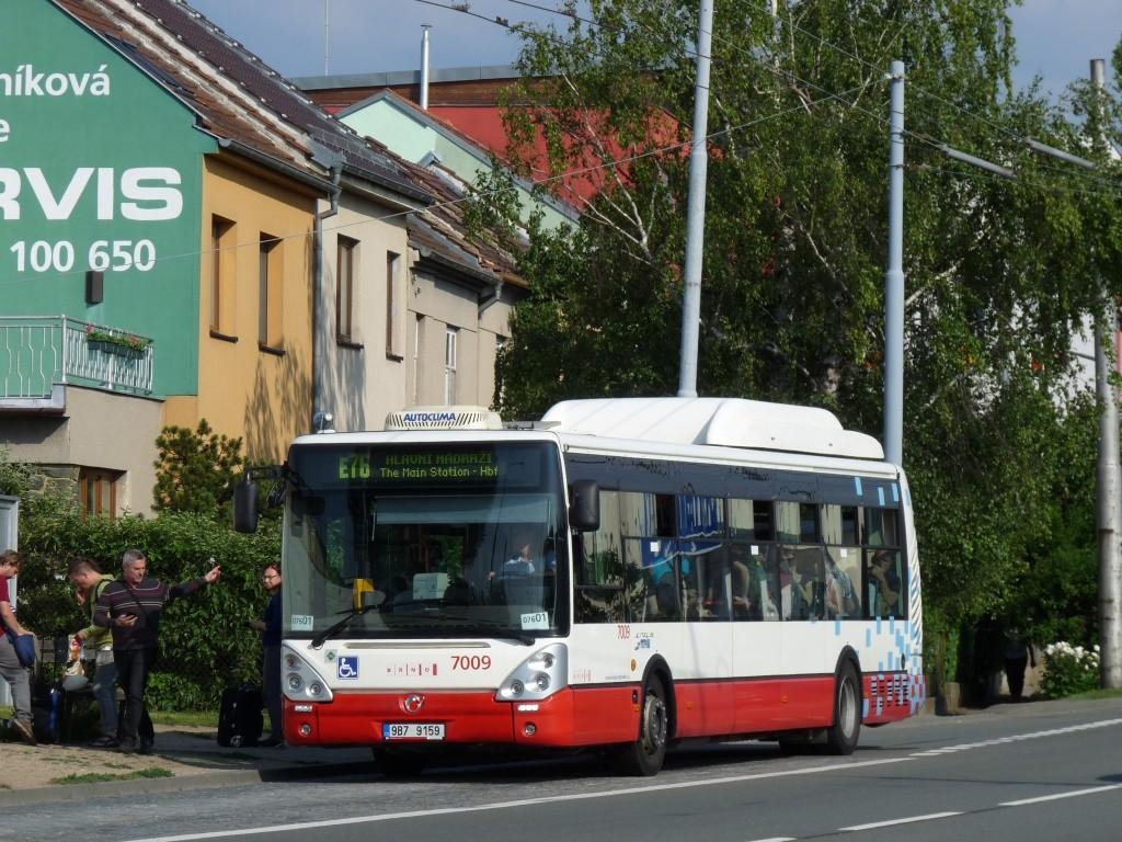 Fotogalerie » Irisbus Citelis 12M CNG 9B7 9159 7009   Brno   Slatina   Řípská   Řípská