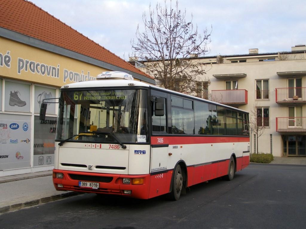 Fotogalerie » Karosa B951E.1713 3B9 8316 7486 | Brno | Jundrov | Lelkova | Jundrov