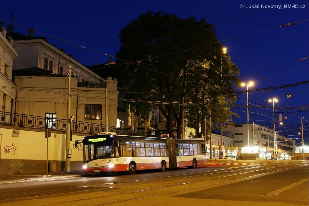 Fotogalerie » Solaris Urbino 18 III 9B7 9148 2637 | Brno | střed | Nádražní | Hlavní nádraží