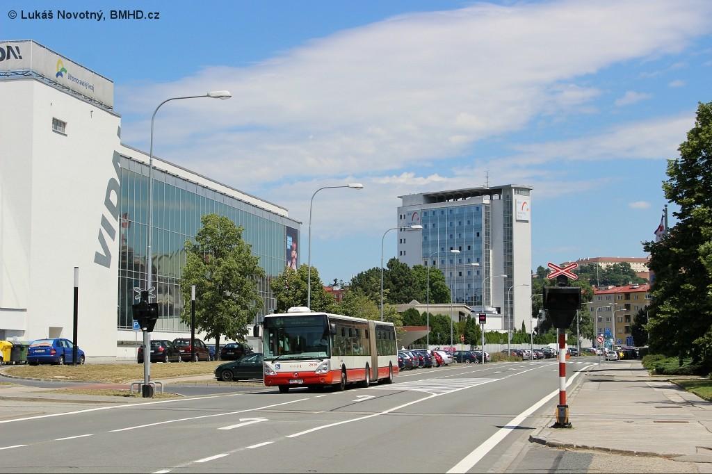 Fotogalerie » Irisbus Citelis 18M 6B2 2462 2616 | Brno | střed | Křížkovského