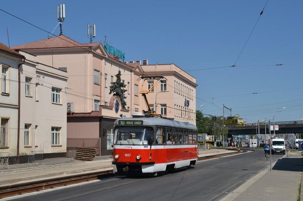 Fotogalerie » Pragoimex T3R.PV 1657   Brno   Černovice   Olomoucká