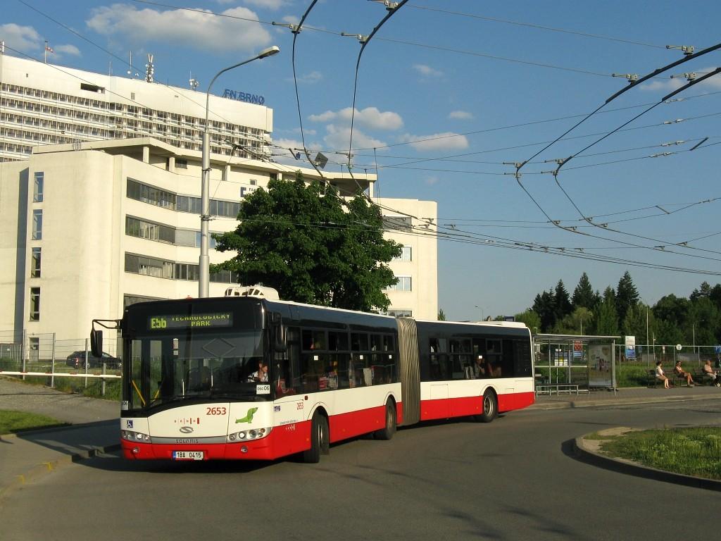 Fotogalerie » Solaris Urbino 18 III 1BA 0415 2653 | Brno | Bohunice | Netroufalky | Nemocnice Bohunice