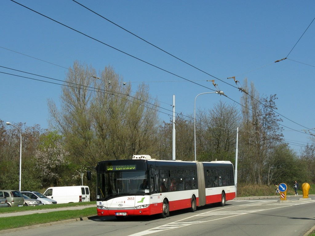 Fotogalerie » Solaris Urbino 18 III 1BA 0415 2653 | Brno | Starý Lískovec | Osová