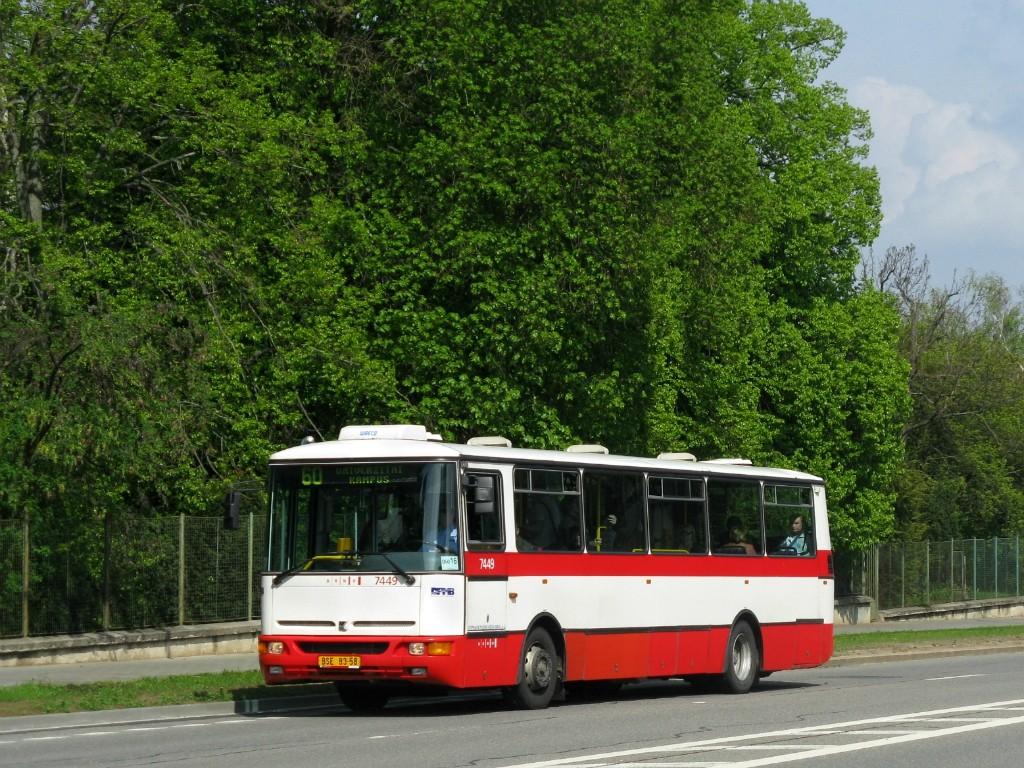 Fotogalerie » Karosa B931E.1707 BSE 83-58 7449 | Brno | Bohunice | Jihlavská