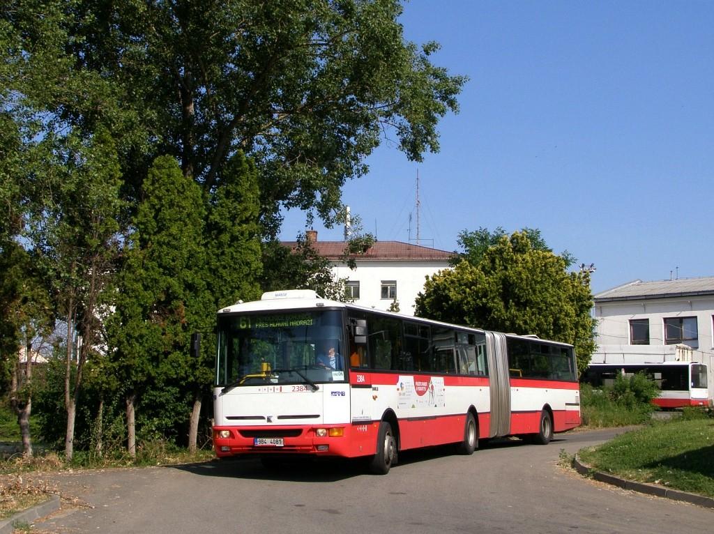 Fotogalerie » Karosa B961E.1970 9B4 4081 2384 | Brno | Střed | Rosická | Dolní nádraží