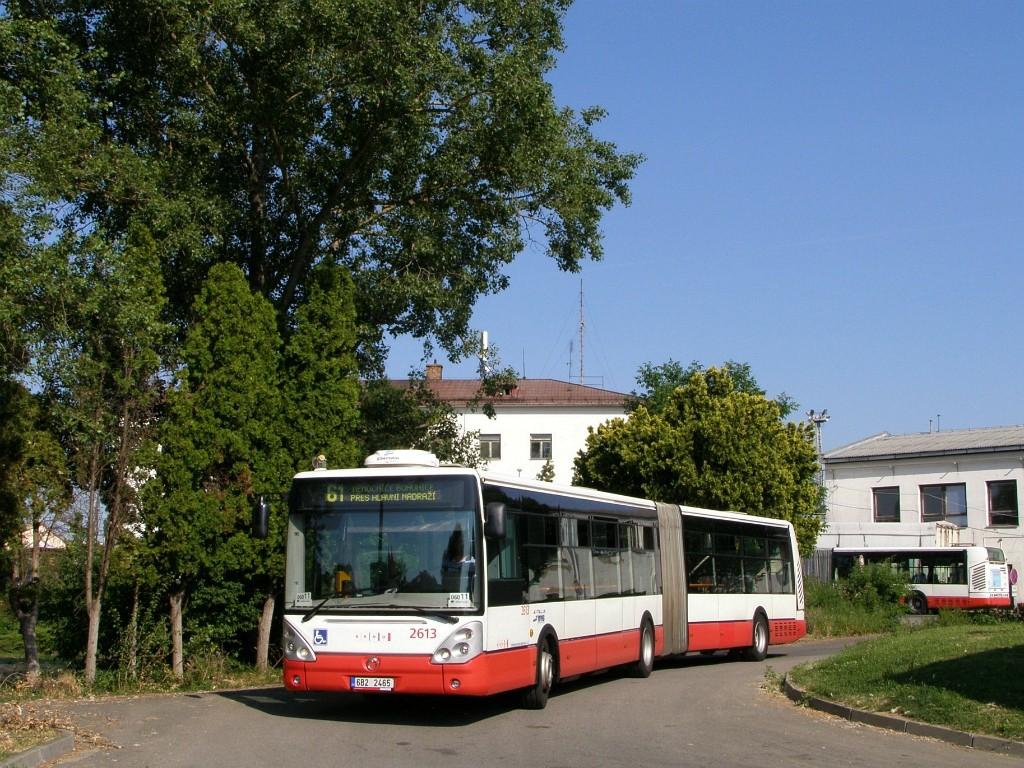 Fotogalerie » Irisbus Citelis 18M 6B2 2465 2613 | Brno | Střed | Rosická | Dolní nádraží