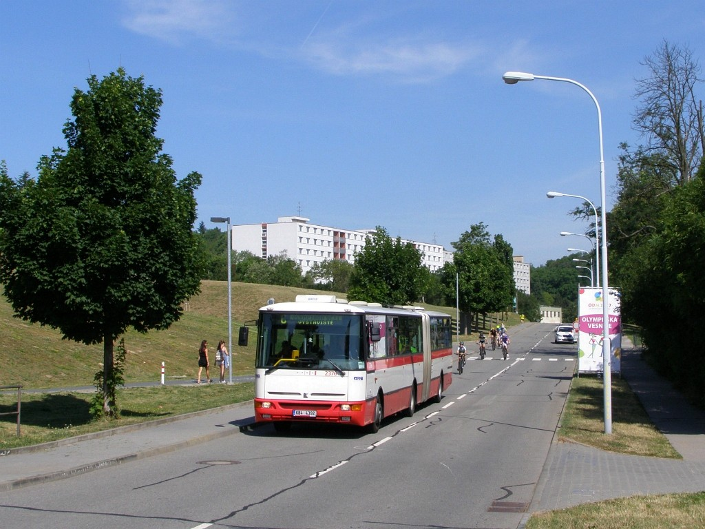 Fotogalerie » Karosa B961E.1970 6B4 4392 2376 | Brno | Královo - Pole | Kolejní