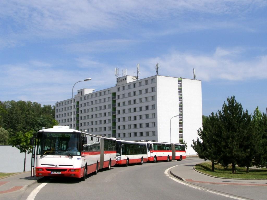 Fotogalerie » Karosa B961E.1970 3B2 5706 2380 | Brno | Královo - Pole | Kolejní | Kolejní