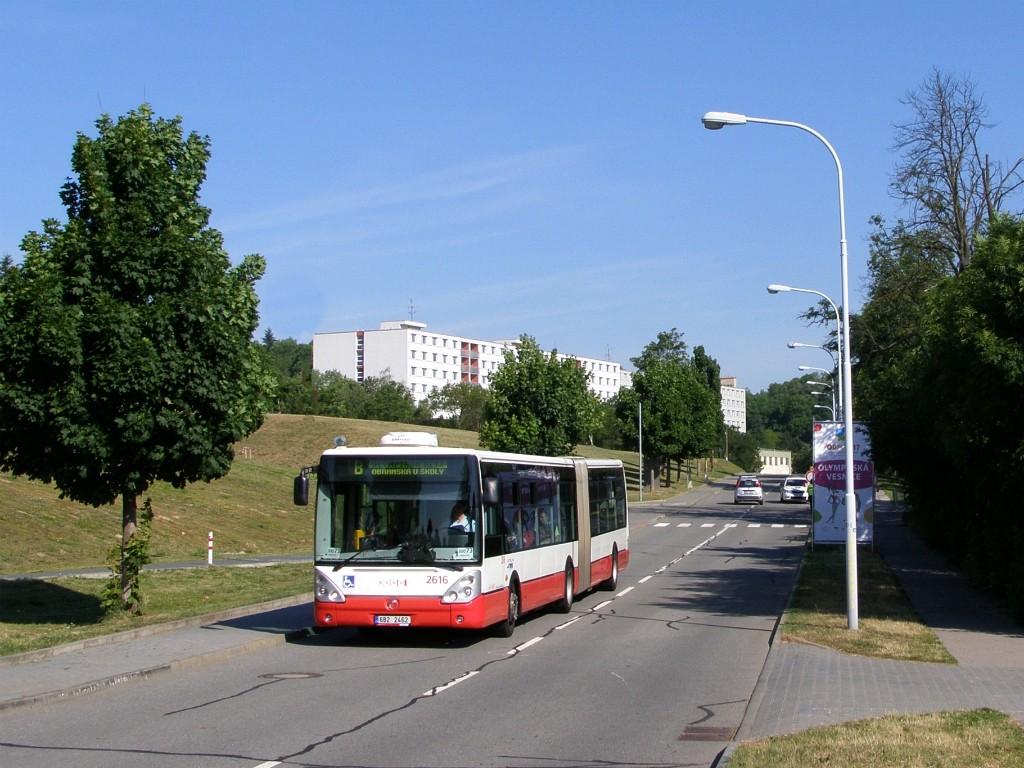Fotogalerie » Irisbus Citelis 18M 6B2 2462 2616 | Brno | Královo - Pole | Kolejní