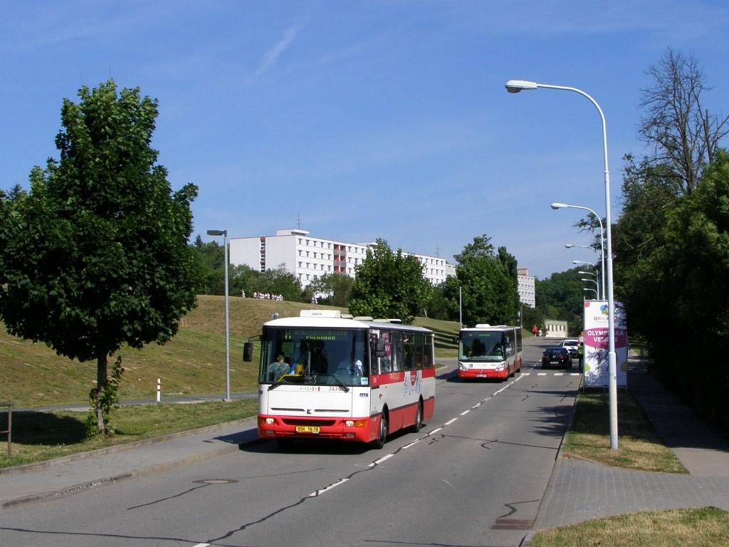 Fotogalerie » Karosa B931E.1707 BSH 16-78 7474 | Brno | Královo - Pole | Kolejní