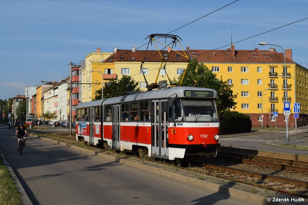 Fotogalerie » ČKD Tatra K2 1132 | Brno | Staré Brno | Rennenská