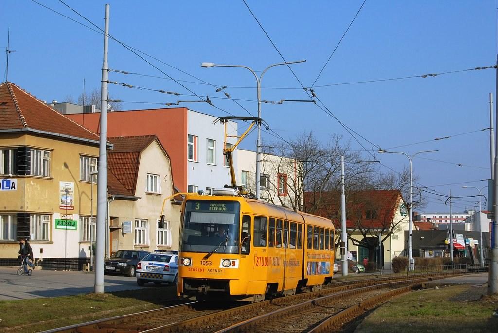 Fotogalerie » K2R 1053 | Brno | Komín | Kníničská