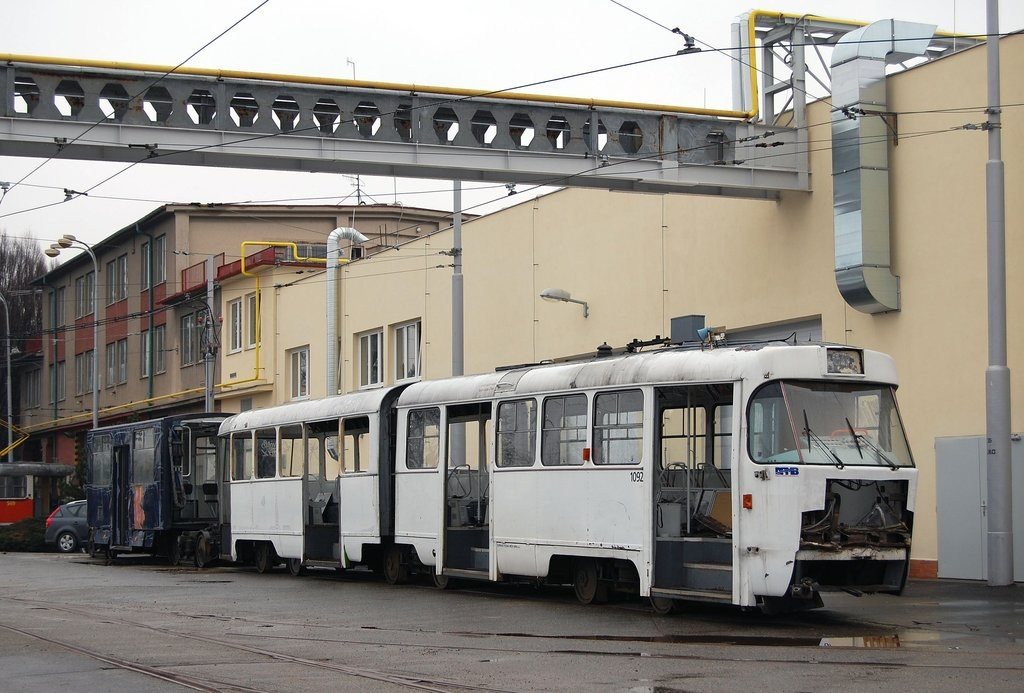 Fotogalerie » K2 1092   Brno   vozovna Medlánky