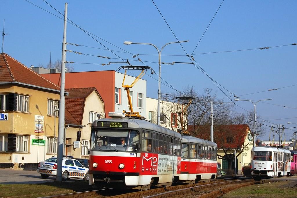 Fotogalerie » Pragoimex T3R.PV 1655 | Pragoimex T3R.PV 1656 | Brno | Komín | Kníničská