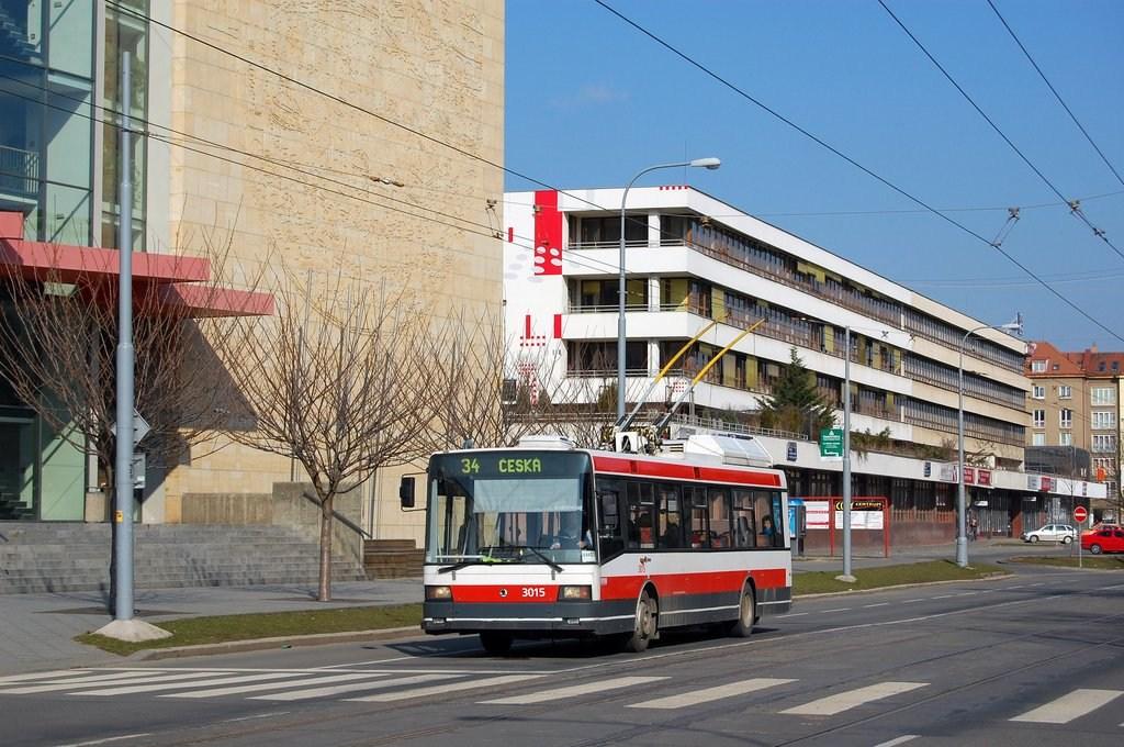 Fotogalerie » Škoda 21Tr 3015   Brno   střed   Kounicova