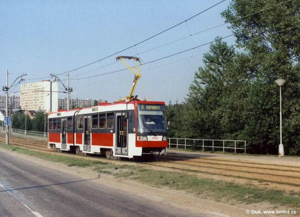 Fotogalerie » K2R 1064 | Brno | Černá Pole | třída Generála Píky