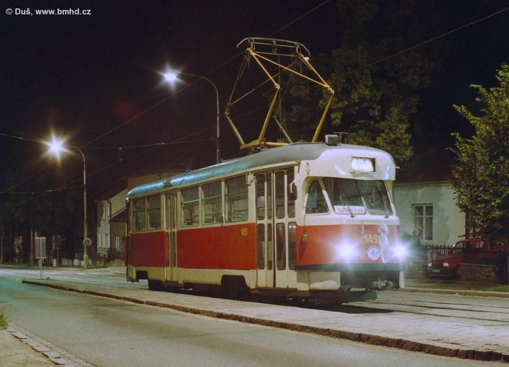 Fotogalerie » T2R 1451 | Brno | Řečkovice | Banskobystrická | Filkukova