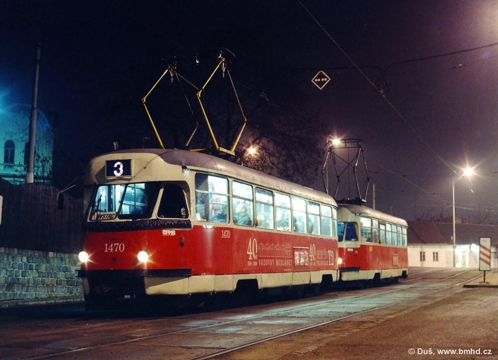 Fotogalerie » T2R 1470 | T2R 1462 | Brno | Žabovřesky | Sochorova | Rosického náměstí
