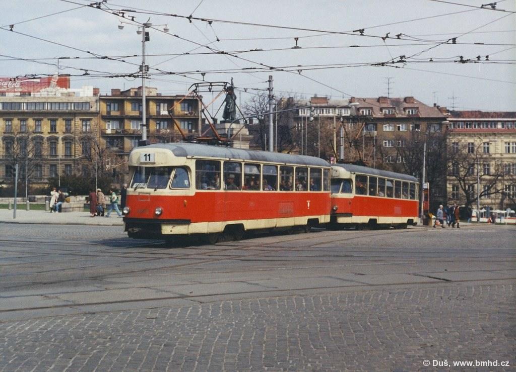 Fotogalerie » T2R 1476 | T2R 1462 | Brno | střed | Moravské náměstí