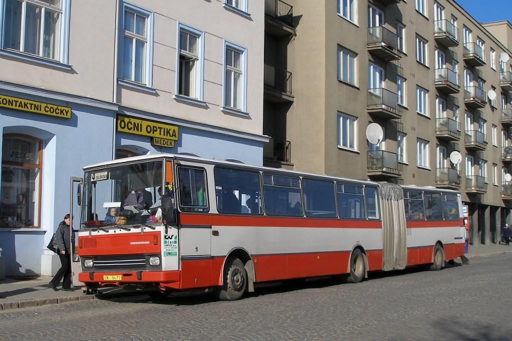 Fotogalerie » Karosa B741 ZN 94-71   Znojmo   28. října   Železniční stanice