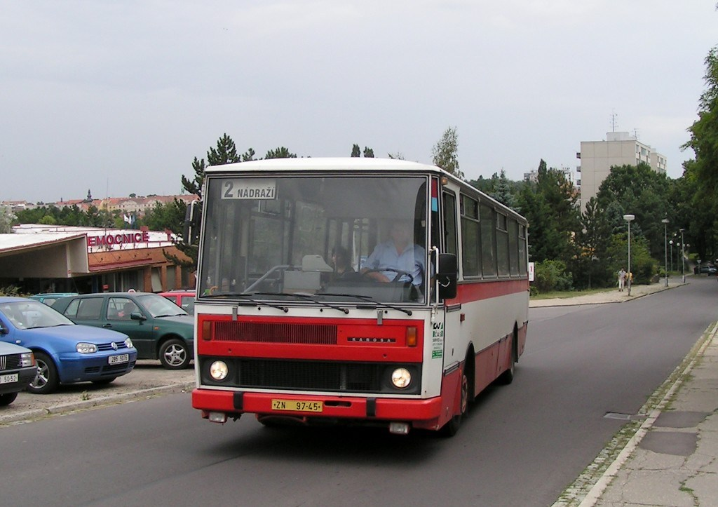 Fotogalerie » Karosa B732 ZN 97-45 | Znojmo | MUDr. Jana Janského